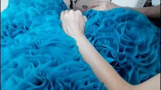 Создание роскошного платья