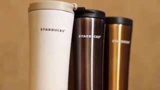 Обзор термокружки Starbucks Stainless Steel Tumbler (Smart Cup)(, 2016-01-19T16:10:02.000Z)