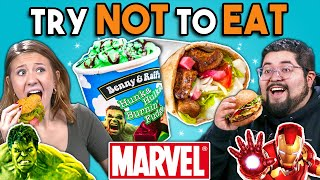 Download Try Not To Eat Challenge - Marvel Food | People Vs. Food Mp3 and Videos