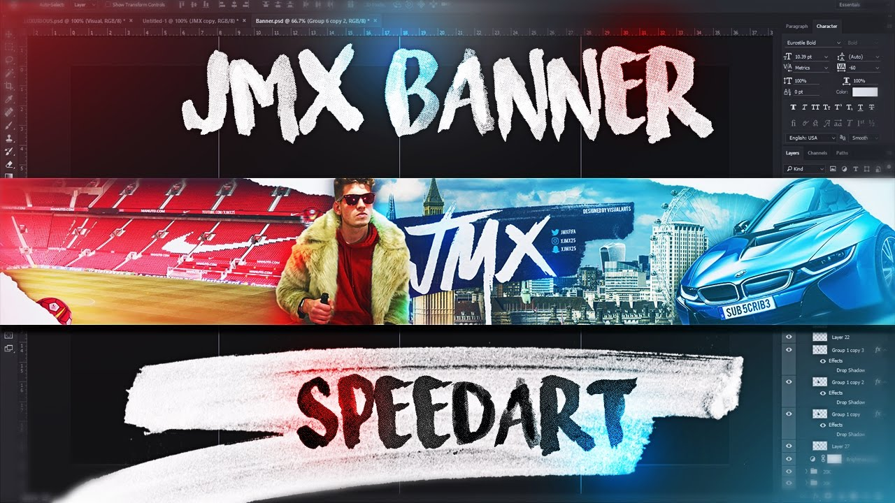 Jmx Youtube Banner Speedart Jmxfifa Youtube