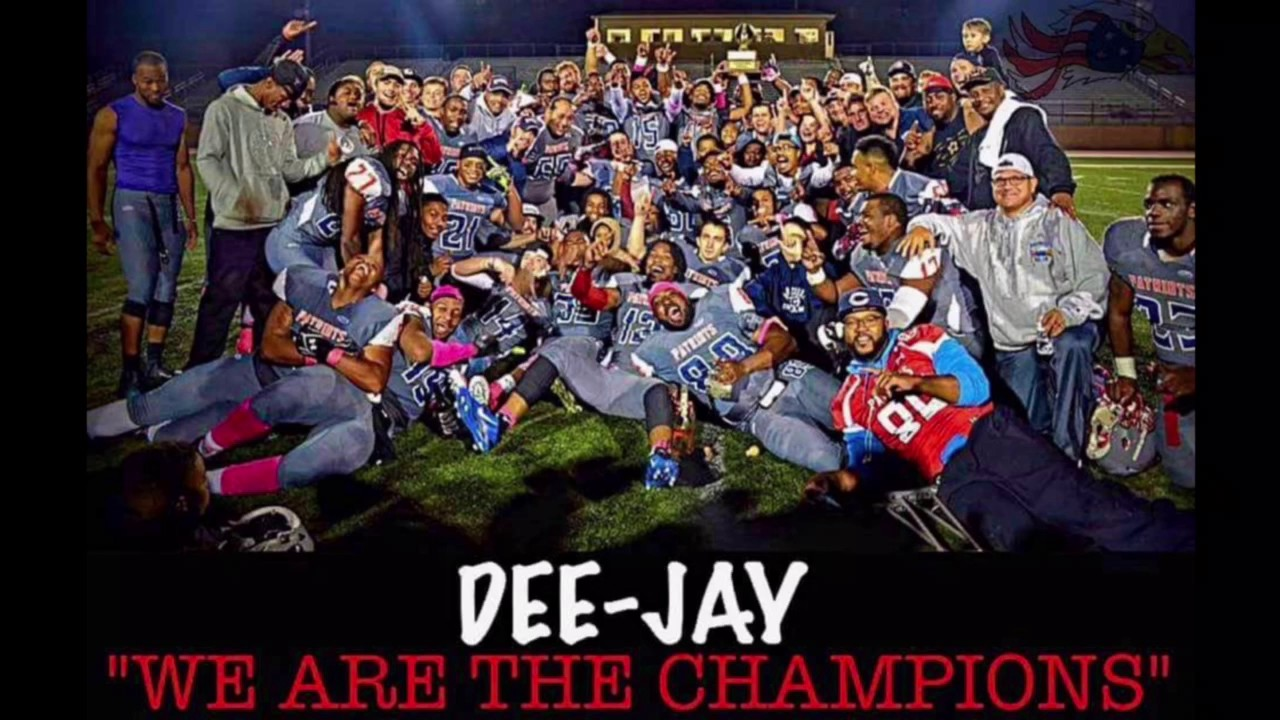 Dee Jay We Are The Champions Lincoln Way Patriots Ron