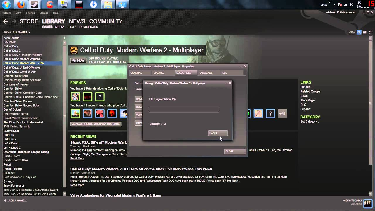 Validating steam files tf2