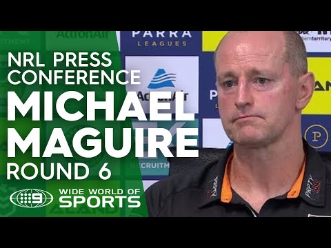 NRL Press Conference: Michael Maguire - Round 6 | NRL on Nine