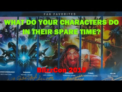 """BlizzCon VoiceOver Fan Favorites:  """"Spare Time"""""""