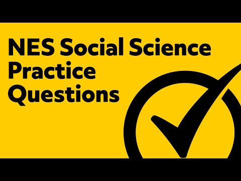 NES Social Science Practice Questions