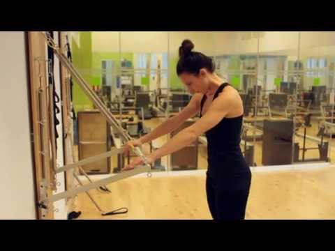 Pilates equipment overview.
