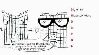 """Sonnenschutz und Sicherheit mit 3M Window Films(Weitere Informationen: http://bit.ly/YT_3M_Sonnenschutz 3M Window Films: Das Video """"Sonnenschutz für Gebäude"""