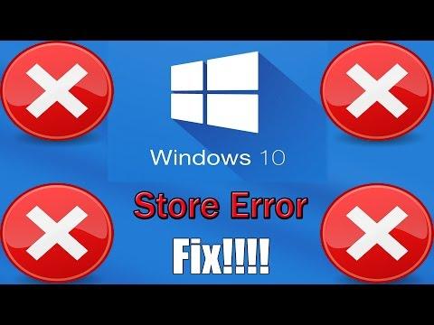 Windows 10 store error fix youtube
