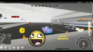 Ford GT vs Ferrari Laferrari! Roblox Fahrzeug Simulator