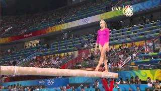Nastia Liukin - Balance Beam - 2008 Olympics All Around