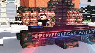 Minecraft'ta GERÇEK HAYAT! - Minecraft Harita
