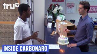 The Carbonaro Effect: Inside Carbonaro - Shipping a Lit Birthday Cake   truTV