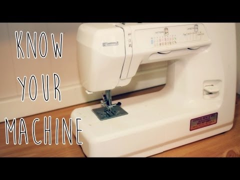 SEWING SERIES | Beginners Sewing Course: All About Your Sewing Machine!