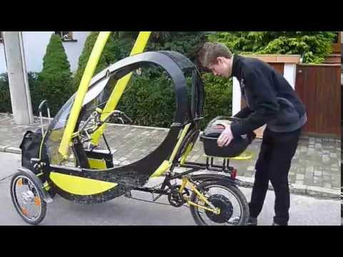 Arcimoto Srk A Crazy Street Legal Electric Trike