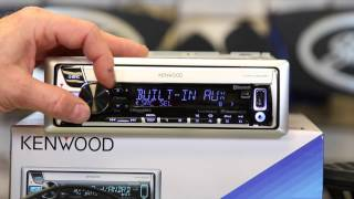 Kenwoods KMR D562BT how to use Pandora and iHeartradio