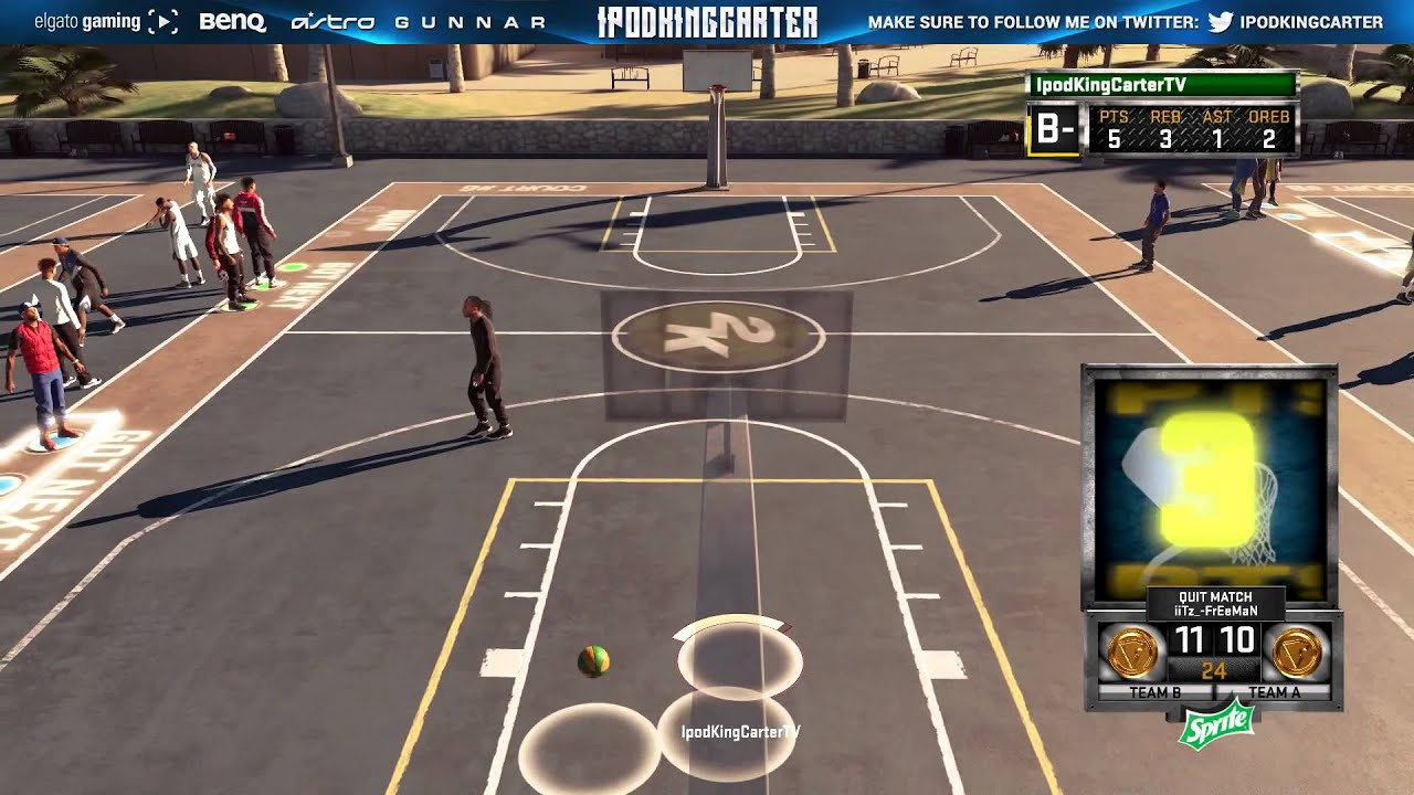 Nba 2k15 Ps4 Park - Disappearing Players Glitch Dude Release Lmao