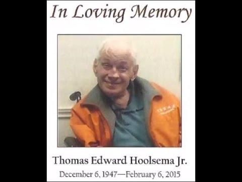 Thomas Hoolsema's Memorial Service
