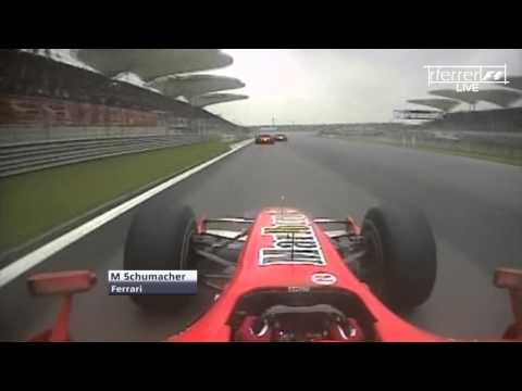 F1 Onboard Highlights | F1 2006 - R16 - Chinese Grand Prix