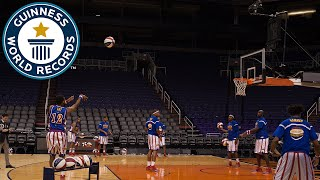 Most Basketball Three Pointers Made by a Pair in One Minute - Guinness World Records