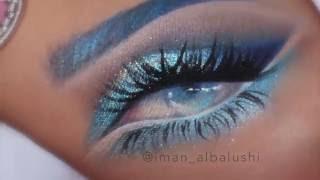 Eye Drawing on a Hand Using Makeup - ሜካፕን በመጠቀም በእጅ ላይ የሚሰራ የዓይን ምስል