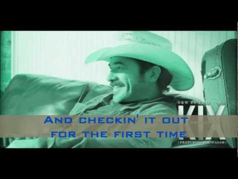 New to This Town -- Kix Brooks ft. Joe Walsh (Lyrics on screen)