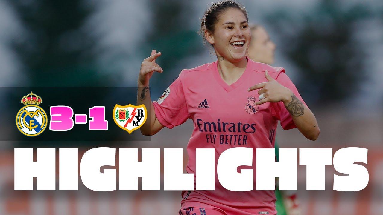 Real Madrid 3-1 Rayo Vallecano | M. Oroz, Asllani & J. Martínez goals! | Primera Iberdrola
