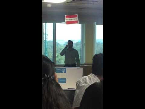 Nadaan Parindey Live By Sheen Shamshad @IBM India Pvt. Ltd., Bangalore