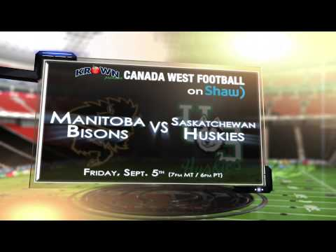 Krown Canada West Football on Shaw promo - SEPT 05