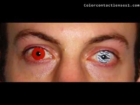 how to make your eyes red without contacts