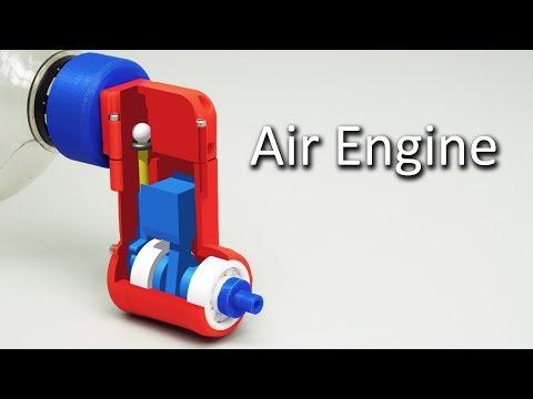 Compressed Air Engine V3