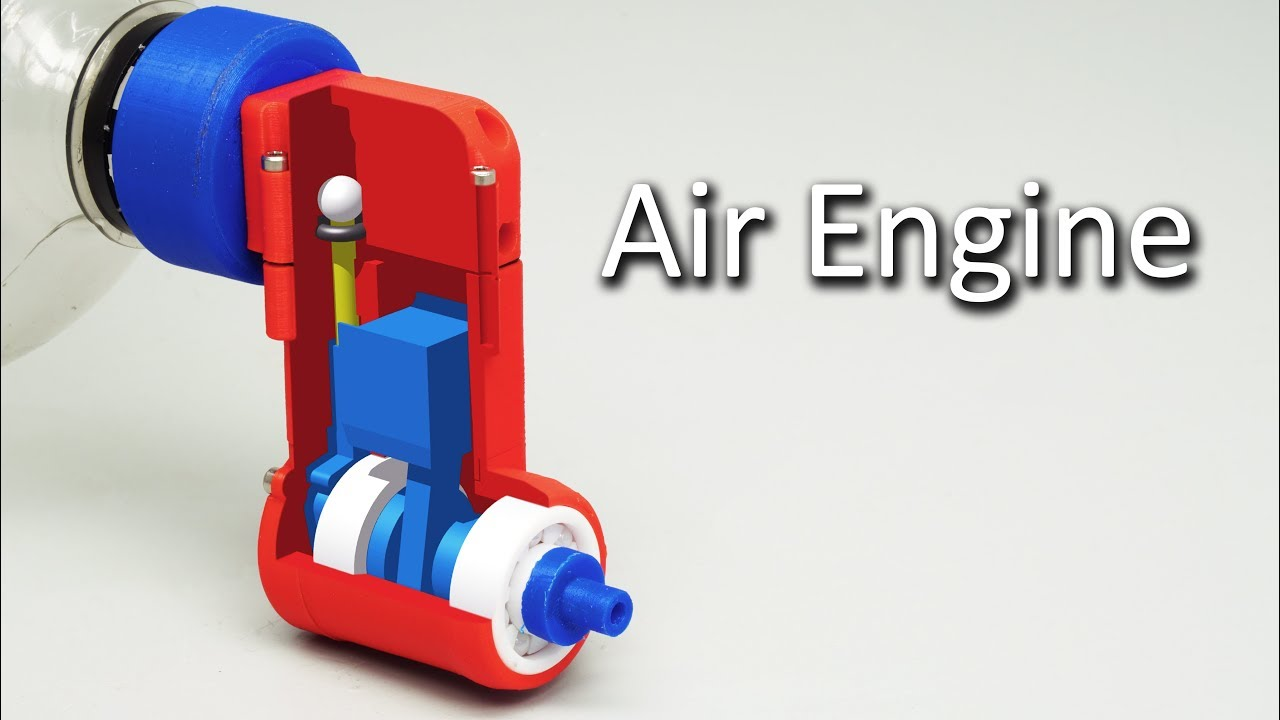 Compressed Air Engine V3 Youtube