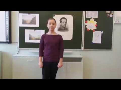 Изображение предпросмотра прочтения – НадеждаМиронова читает произведение «Тучи» М.Ю.Лермонтова