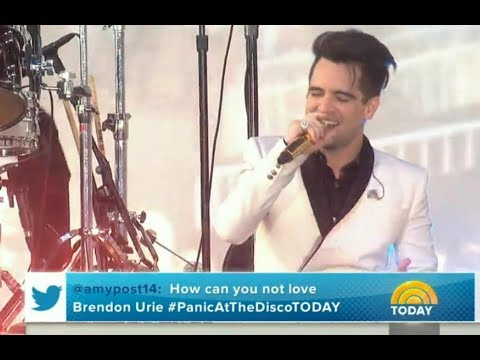 "Panic! at the Disco performs ""Say Amen (Saturday Night)"" LIVE on the TODAY Show 