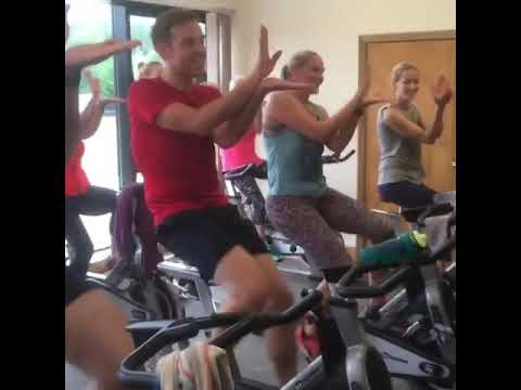 Spin Class Does Baby Shark