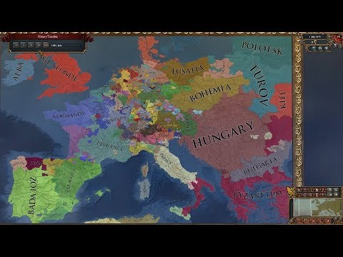Europa Universalis 4 AI Timelapse - Voltaire's Nightmare Mod Pt.  2