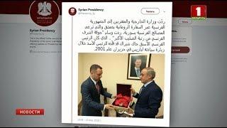 Башар Асад вернул Франции свой орден Почетного легиона