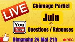 Live Youtube Xavier CGT : Chômage Partiel Juin + Climatisation Magasins + Questions / Réponses