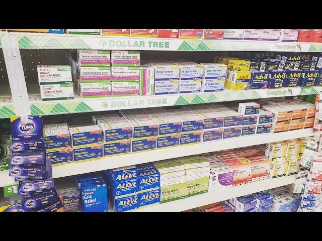 Dollar Tree OTC Shelf Organization 2-21-2020