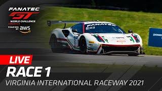 RACE 1 V RG N A GT WORLD CHALLENGE AMER CA 2021