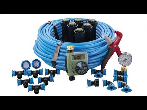 How To Install The InGround Sprinkler System