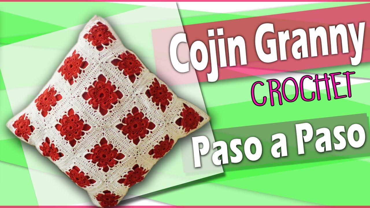 COJIN granny Tejido a crochet - tutorial Paso a Paso - YouTube