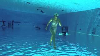 ランニング@東京辰巳国際水泳場ダイビングプール