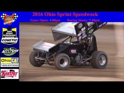 June 17th, Ohio Speedweek at Attica Raceway Park