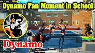 DYNAMO GAMING Biggest Fan Moment in School | Dynamo kidnapped by Fan |PUBG Mobile Dynamo Face reveal