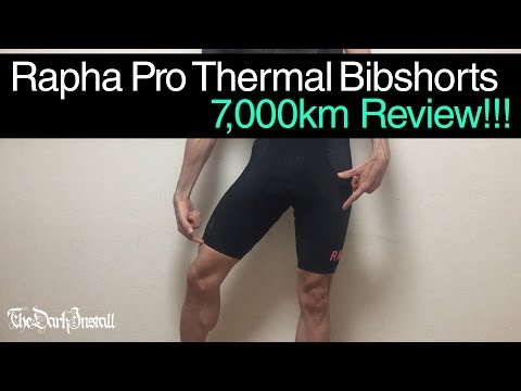 Rapha Pro Thermal Bibshorts. 7,000km Review!!!