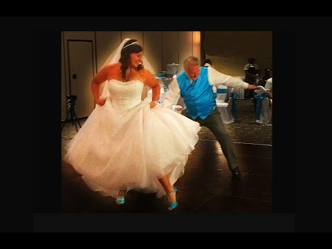 16 Dances in 4 MInutes BEST Father Daughter Dance In History!!!