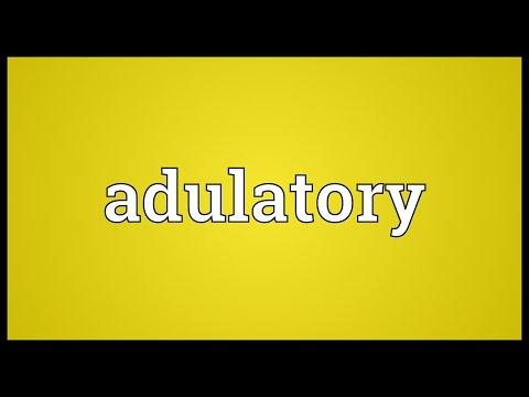 Header of adulatory