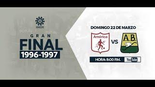 CLÁSICOS DIMAYOR | Final Vuelta América de Cali 2:0 Atlético Bucaramanga (1996-1997)