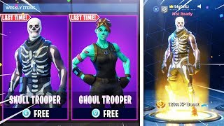 i UNLOCKED Skull Trooper Aujourd'hui GRATUIT à Fortnite! (Fortnite Skull Trooper 2018)