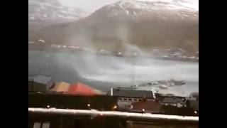 Wind gust of 283 km/h in Faroe Islands during the severe windstorm on Dec 25